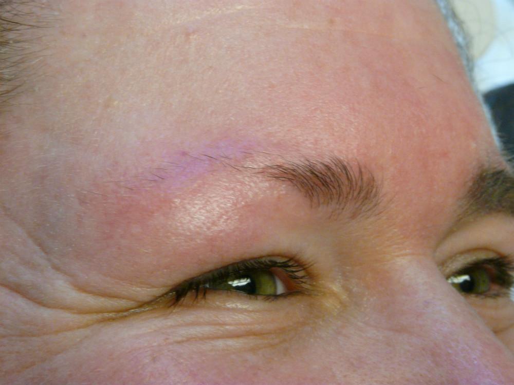 voor permanente make-up wenkbrauwen