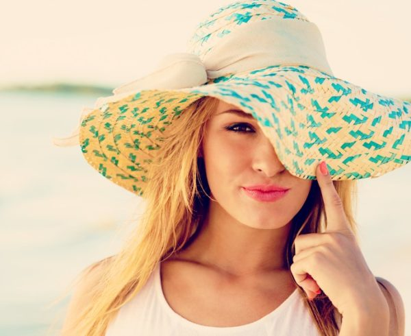 UV bescherming door o.a. hoed