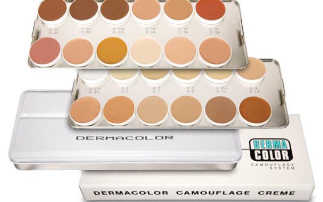 Dermacolor camouflage kleuren